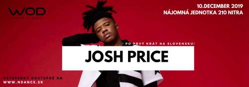 JOSH PRICE WORKSHOP